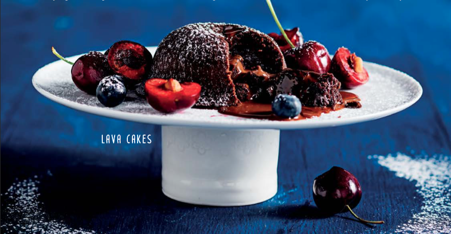 RECIPE: CHOCOLATE LAVA CAKES
