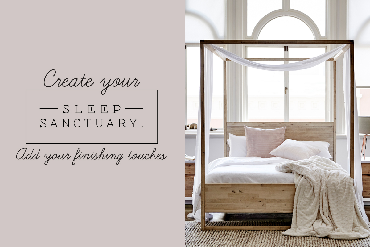 THE FINISHING TOUCHES FOR A SLEEP SANCTUARY