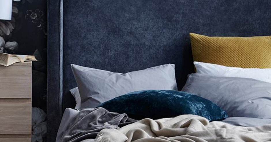 Ways to style your headboard