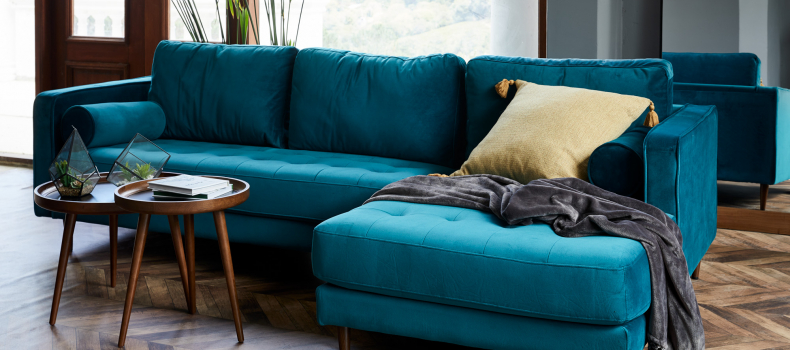 Bold Colours in Furniture