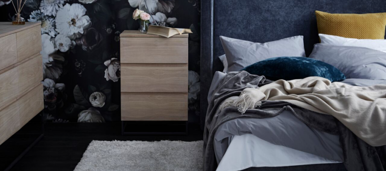 YOUR BEDSIDE STYLED JUST RIGHT