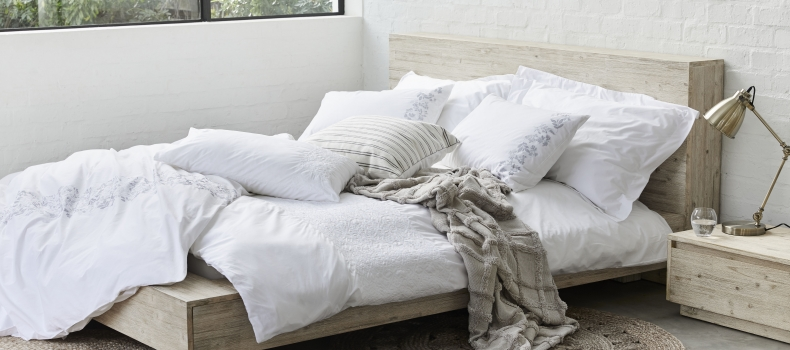 LAYERS FOR A SPRING SLEEP SANCTUARY