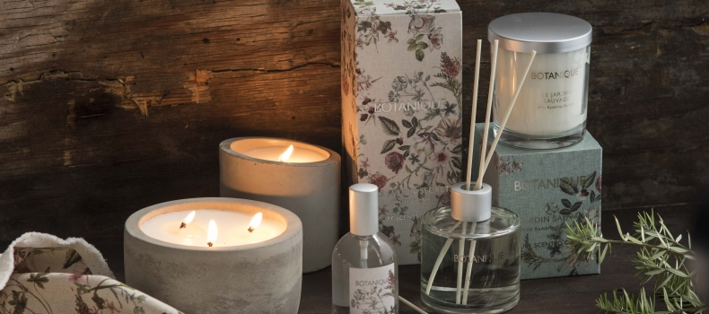 @HOME'S BOTANIQUE HOME FRAGRANCE RANGE